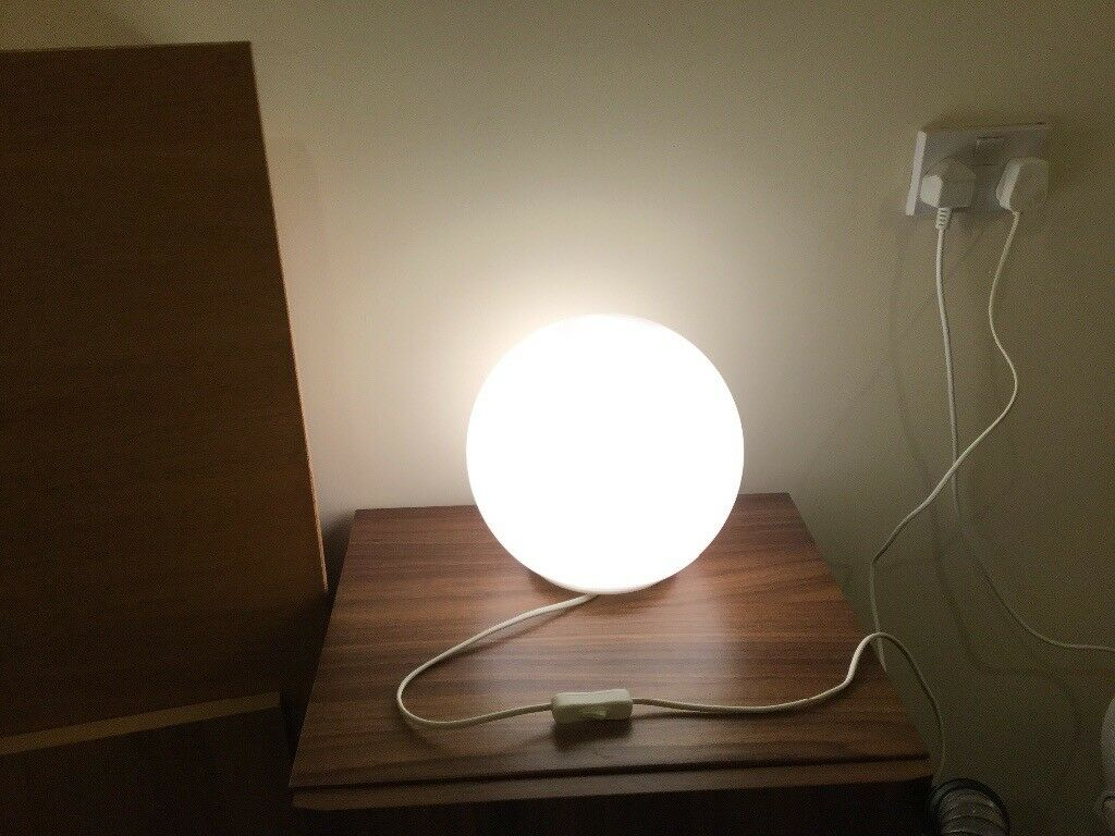 Round Bedside lamp | in Riverside, Cardiff | Gumtree