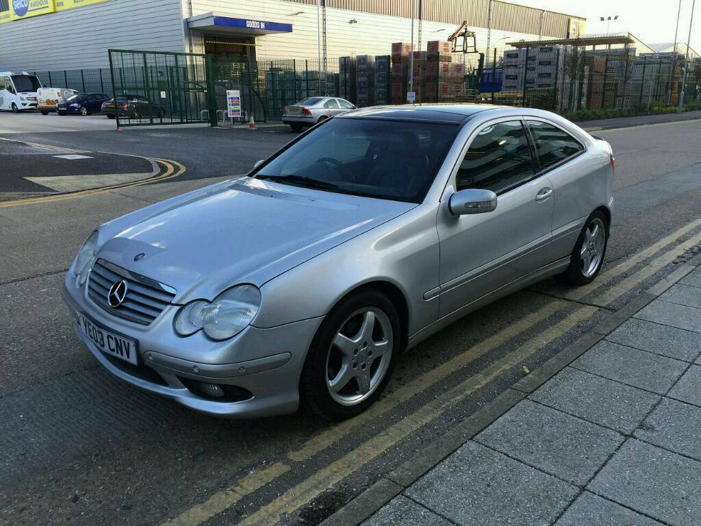 Automatic 2003 Mercedes Benz C Cl Sel Sport Coupe C220 Cdi Se