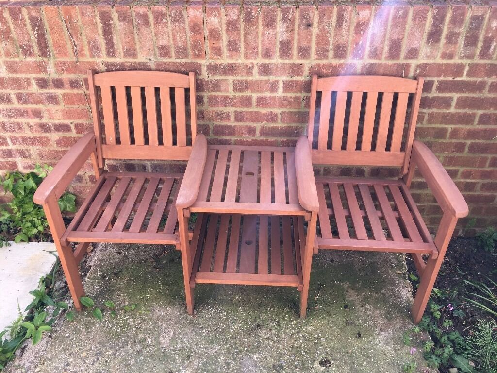 Garden Furniture Jakarta jakarta wooden companion garden furniture set - 2 person outdoor