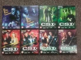 CSI VEGAS DVDS