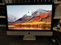 Apple iMac 27 inch intel Core i5 2.8GHz 8GB 1TB HDD Mid 2010 MacOS High Sierra loaded