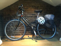 WOMAN HYBRID BIKE // RIDGEBACK + ACCESSORIES