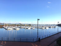 Chandlers Way, Penarth Marina with stunning water views