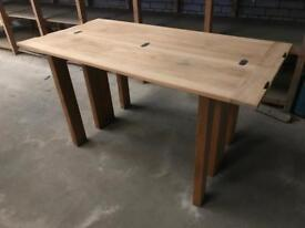 Fold out console table