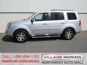 2009 Honda Pilot Touring 4WD   One Owner   Local   Low Mileage