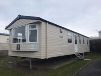 3 Bed Static Caravan, Sea View, Full inventory & all Fees. Gas C/H & D/G
