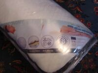 Brand New & Sealed Dulcette double spring size mattress 135 x 190 cm.