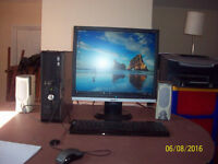 Refurbished Dell Optiplex 755 Computerwith monitor ,keyboard and mouse,windows 10 installed