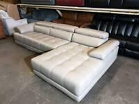 Cream Leather Corner Sofa Sofas Armchairs Couches Suites For