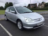 Honda Civic Automatic, 6 months MOT, Lovely car, drives superbly.