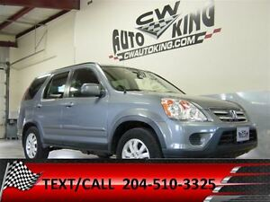 2006 Honda CR-V EX-L / Leather / Roof / Loaded / All Wheel Drive