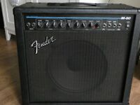 "Fender M80 USA 2 Channel Guitar Amplifier Combo 12"" Speaker w/ Reverb"