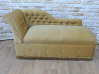 1940s chaise lounge with storage (Delivery)