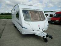 2006 ABBEY SPECTRUM 620 5 BERTH TWIN AXLE LARGE FAMILY CARAVAN