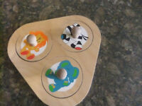 Baby/Toddler Wooden Puzzle