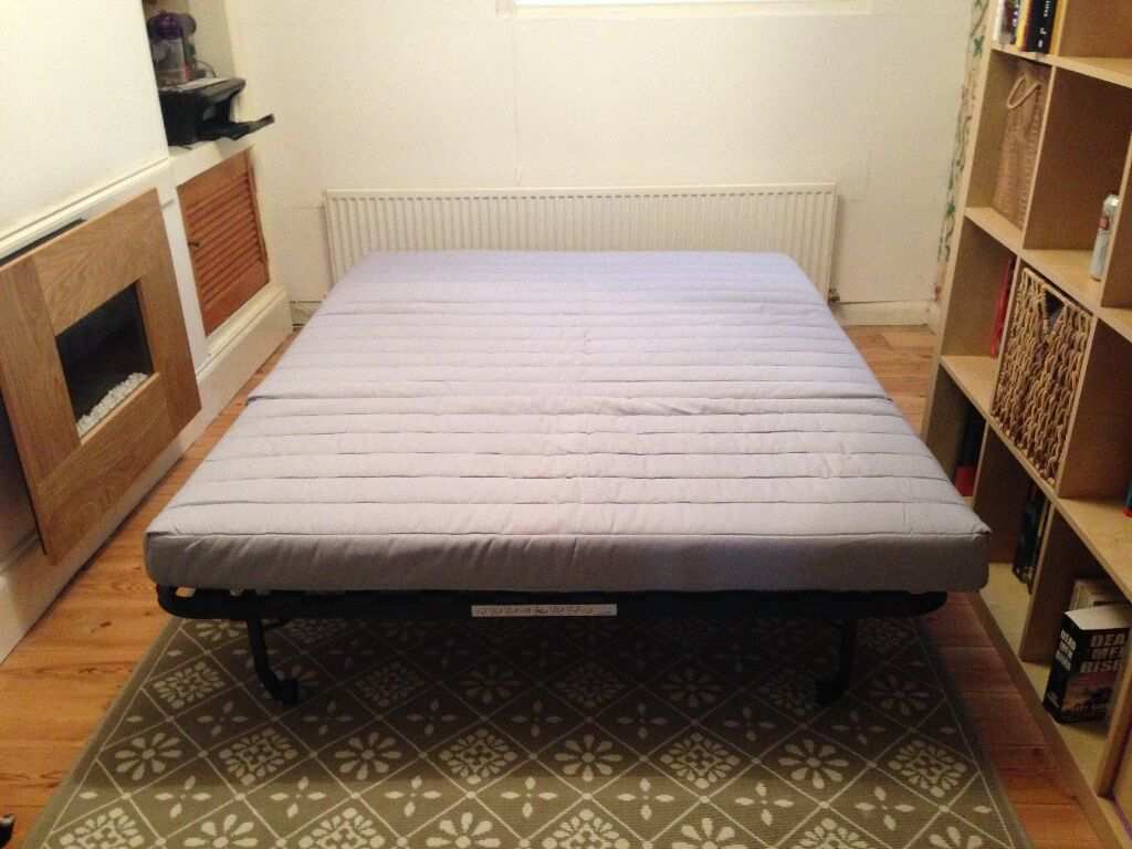 ikea double sofa bed lycksele murbo hen n orange in brighton east sussex gumtree. Black Bedroom Furniture Sets. Home Design Ideas