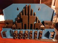 52pc milling machine clamping kit