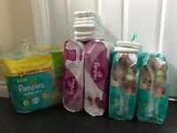 Pampers Baby Dry nappies size 6/6+ and Active Fit size 6