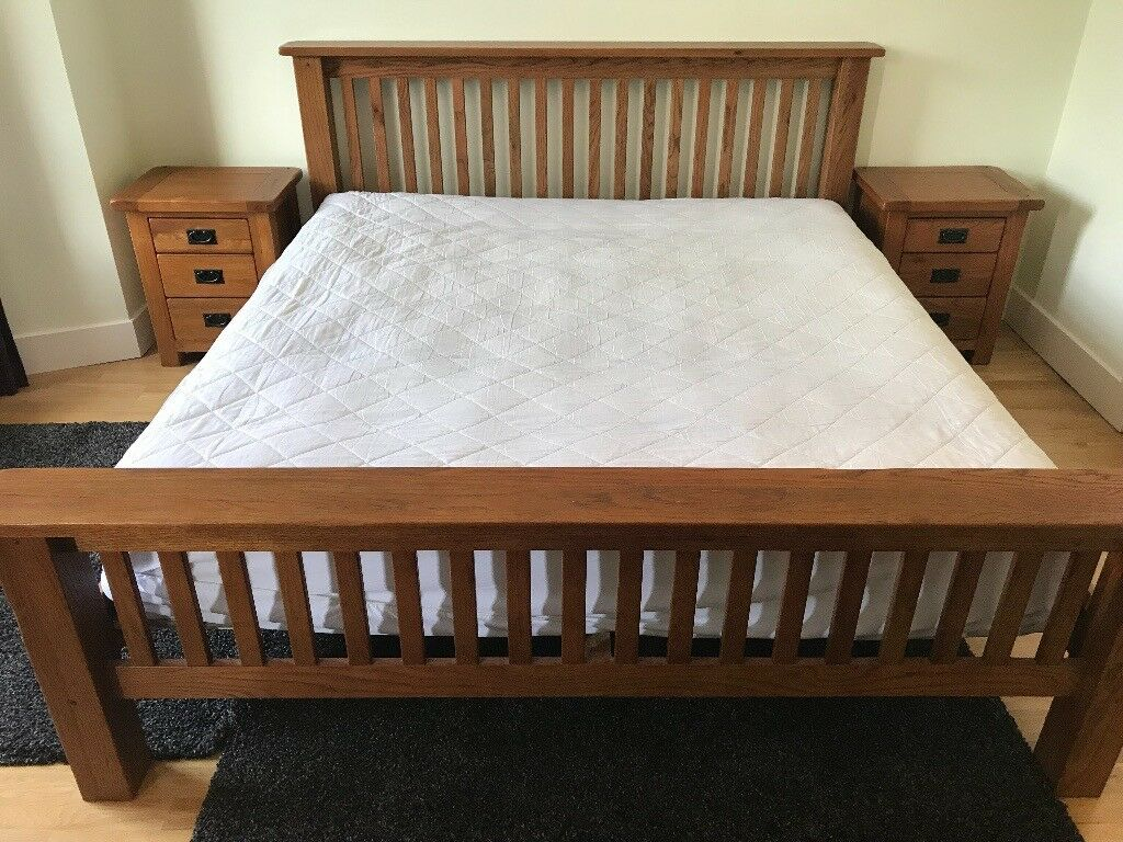 Super King Size Luxury Bed Verona Wooden Bed Frame Sealy