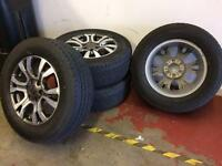 "Ford Ranger Wildtrak 18"" Alloys & Tyres"