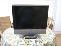 "Sharp LC-20SD4E Aquos - 20"" LCD TV"