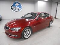 2012 BMW 328I X DRIVE COUPE! 6 SPEED! 47KM! FINANCING AVAILABLE