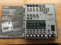 Yamaha usb mixing studio MW/10c
