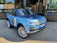KIDS RIDE ON CAR RANGE ROVER BLUE BRAND NEW WITH RECEIPT