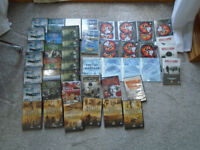 A great assortment of WAR dvds have a look at the photos..!!
