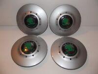 4 Skoda Felicia Wheel Centre Caps / Trims