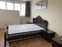 Mahogany Finish Italian Bedroom Furniture