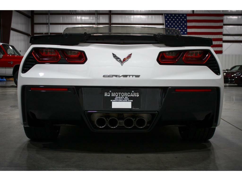 2019 White Chevrolet Corvette Convertible 3LT   C7 Corvette Photo 4