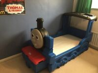 Thomas the tank engine Little Tikes plastic bed