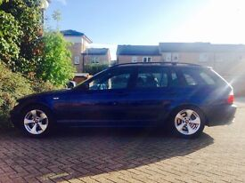 BMW E46 *2005* 320D ES TOURING 6 SPEED MANUAL 150 BHP *2005* *FACELIFT MODEL *M SPORTS FEATURES