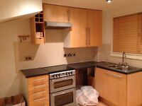 Kitchen Units and Gas Cooker