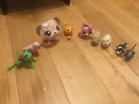 Toys that move, jump or sing- incl Littlest Pet Shop toys