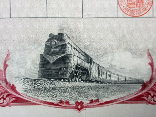 Japan Stock South Manchuria Railway CO., LTD. 1940