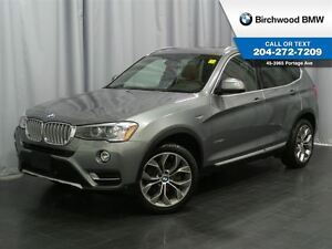 2016 BMW X3 xDrive28i Premium Enhanced & Technology Package!