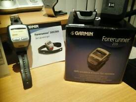 Garmin forerunner 205 GPS watch