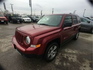 2016 Jeep Patriot HIGH ALTITUDE, 4X4, HEATED LEA