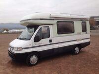 1999 AUTOSLEEPER TALISMAN GX 2.5TD 66,000 MILES 4 BERTH-NEW HABITATION CHECK