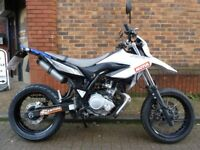 Yamaha WR125X 2013 MOT & warranty service history perfect condition ready to ride