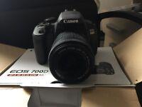 Canon EOS 700D (Rebel T5i) Digital SLR Camera, Boxed, 18-55mm Kit Lens & More