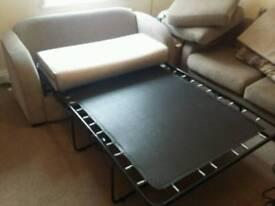 Sofa bed and sofa