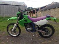 Kawazaki klx 250cc