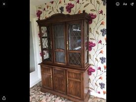 Tall cabinet dresser type shabby chic project