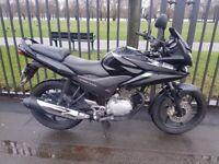 Honda CBF125 Black 2009