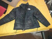 North face jacket size medium