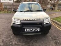 2002 Land Rover Freelander 2.0 TD4 GS 5dr Automatic @07445775115