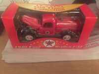 a red 1940 Ford replica collectors car for sale!!